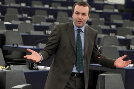 Manfred Weber, EU-Parlamentspräsident, EVP
