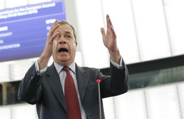 UKIP, Nigel Farage, Mafia-Vergleich, Europa