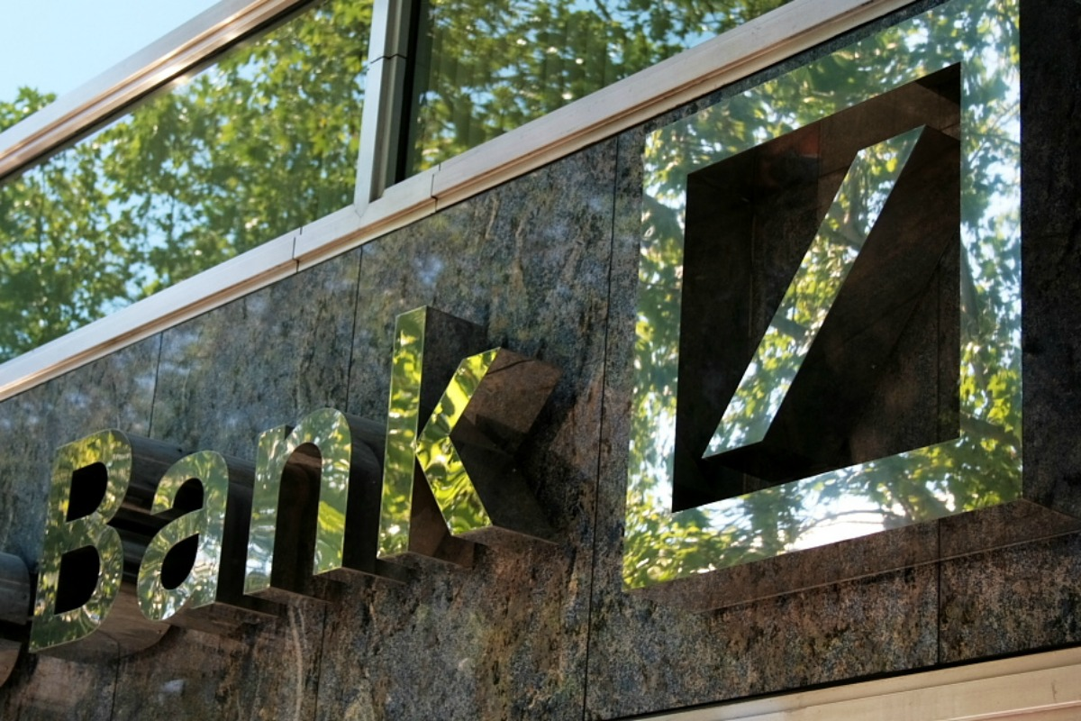 Zeiche der Deutschen Bank