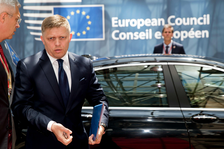 EU Europa Fico Slowakei