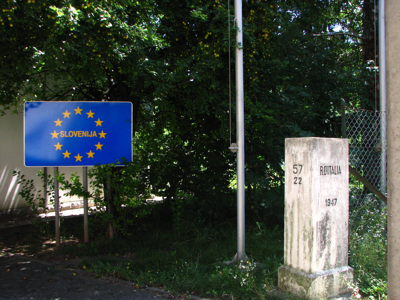 Auch Slowenien könnte bald einen Grenzzaun gegen Flüchtlinge errichten.