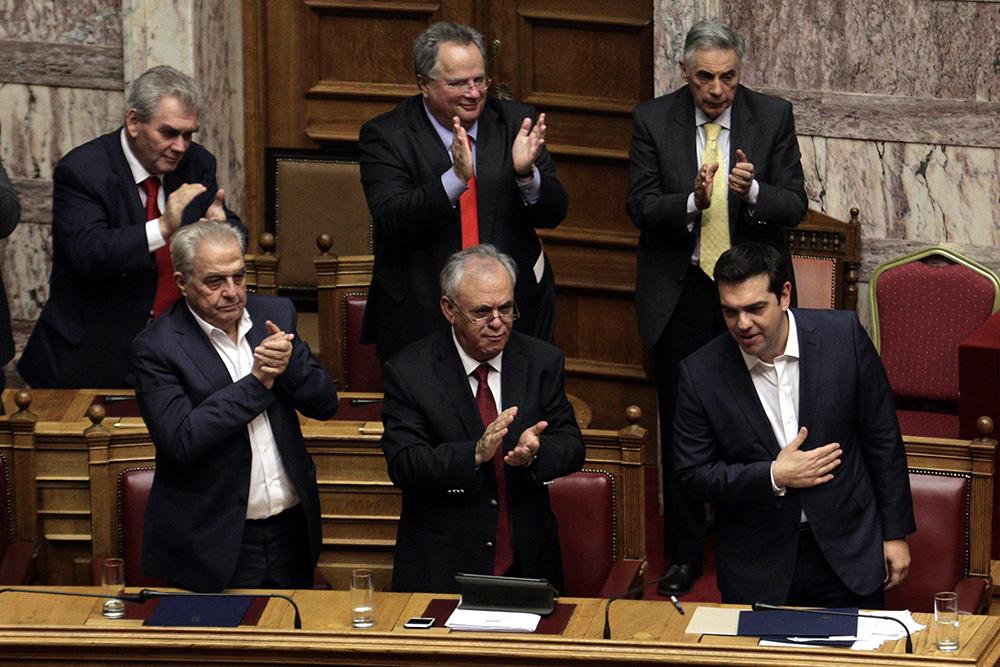 Griechenland Tsipras Vertrauensabstimmung Reformen