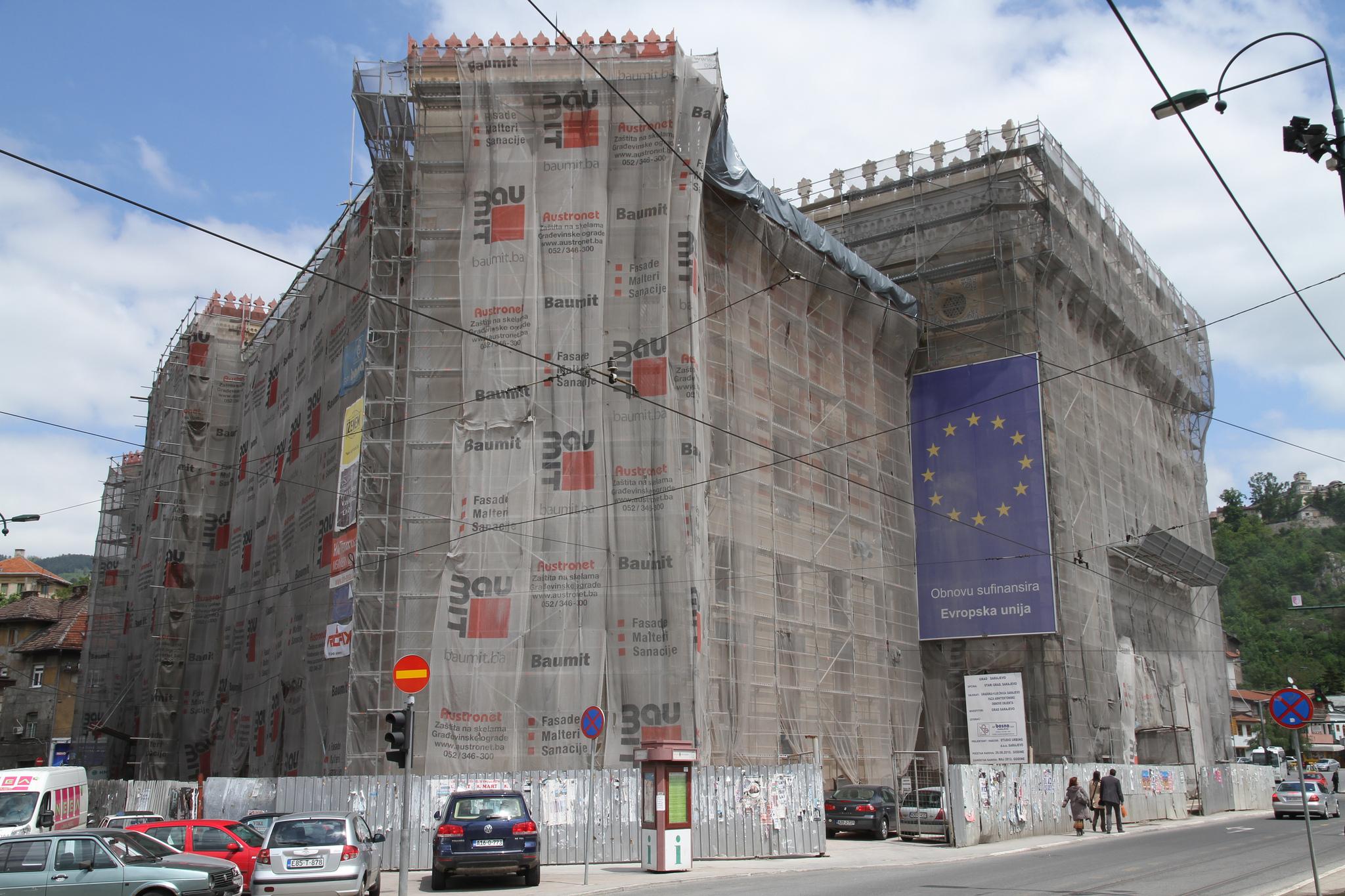 Bosnien und Herzegowina haben als einzige Teile des Westbalkans noch nicht den Status eines EU-Beitrittskandidaten.