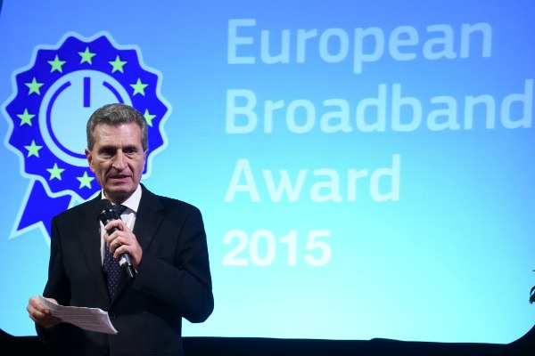 EU Digital Commissioner Günther Oettinger