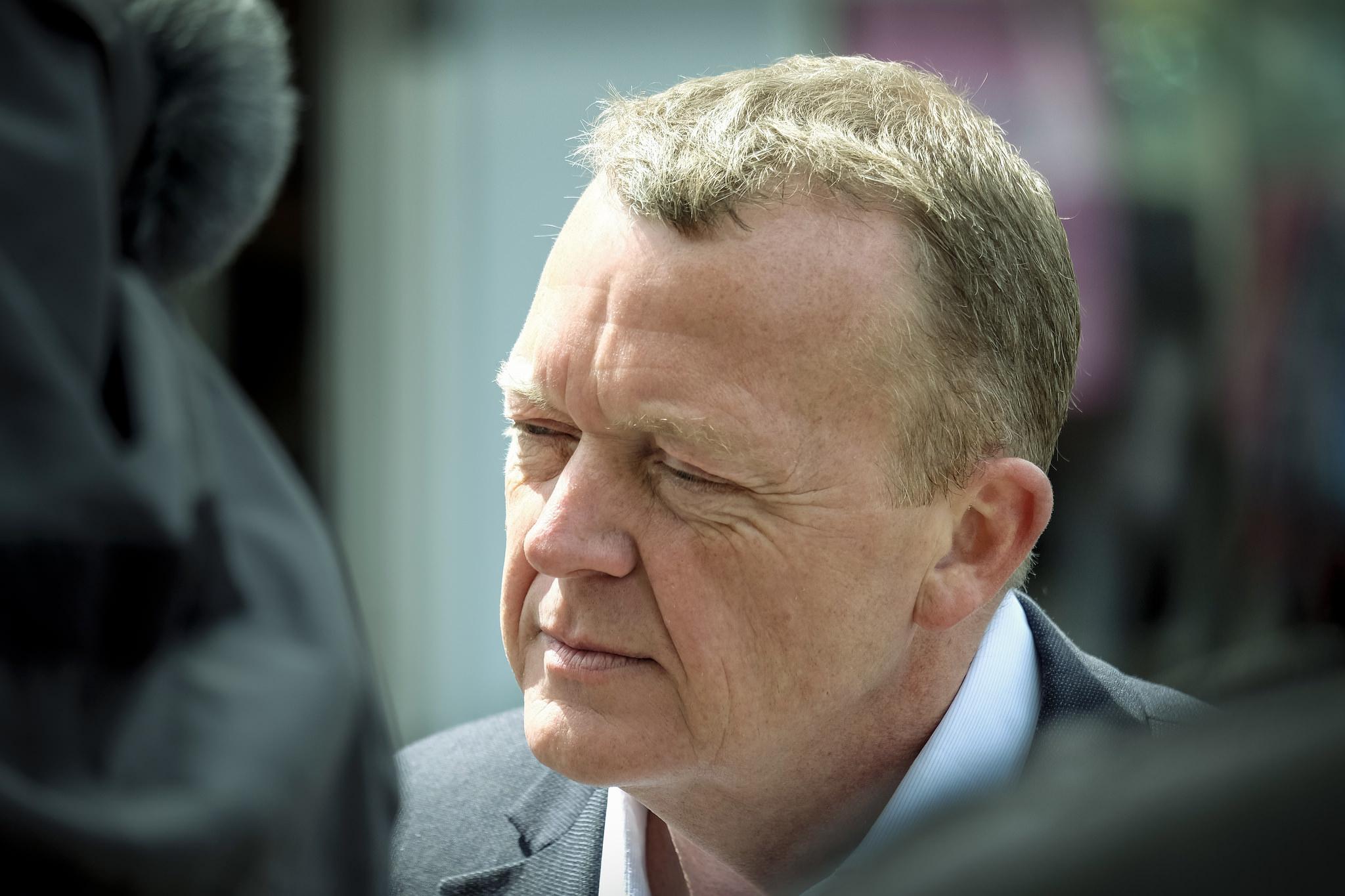 Dänemarks Regierungschef Lars Løkke Rasmussen ist enttäuscht über das Nein beim Referendum.