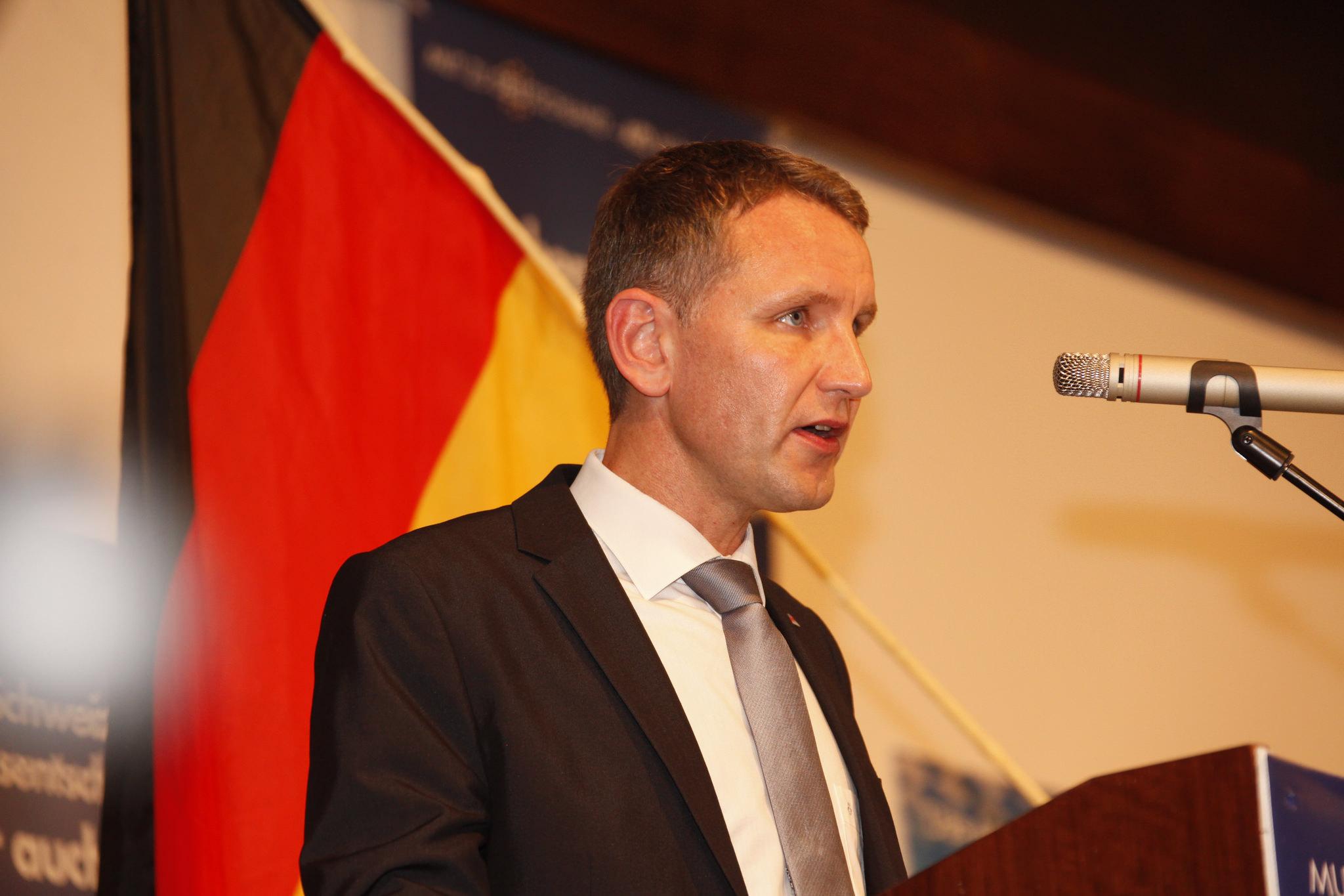 Björn Höcke, Fraktionsvorsitzender der AfD Thüringen