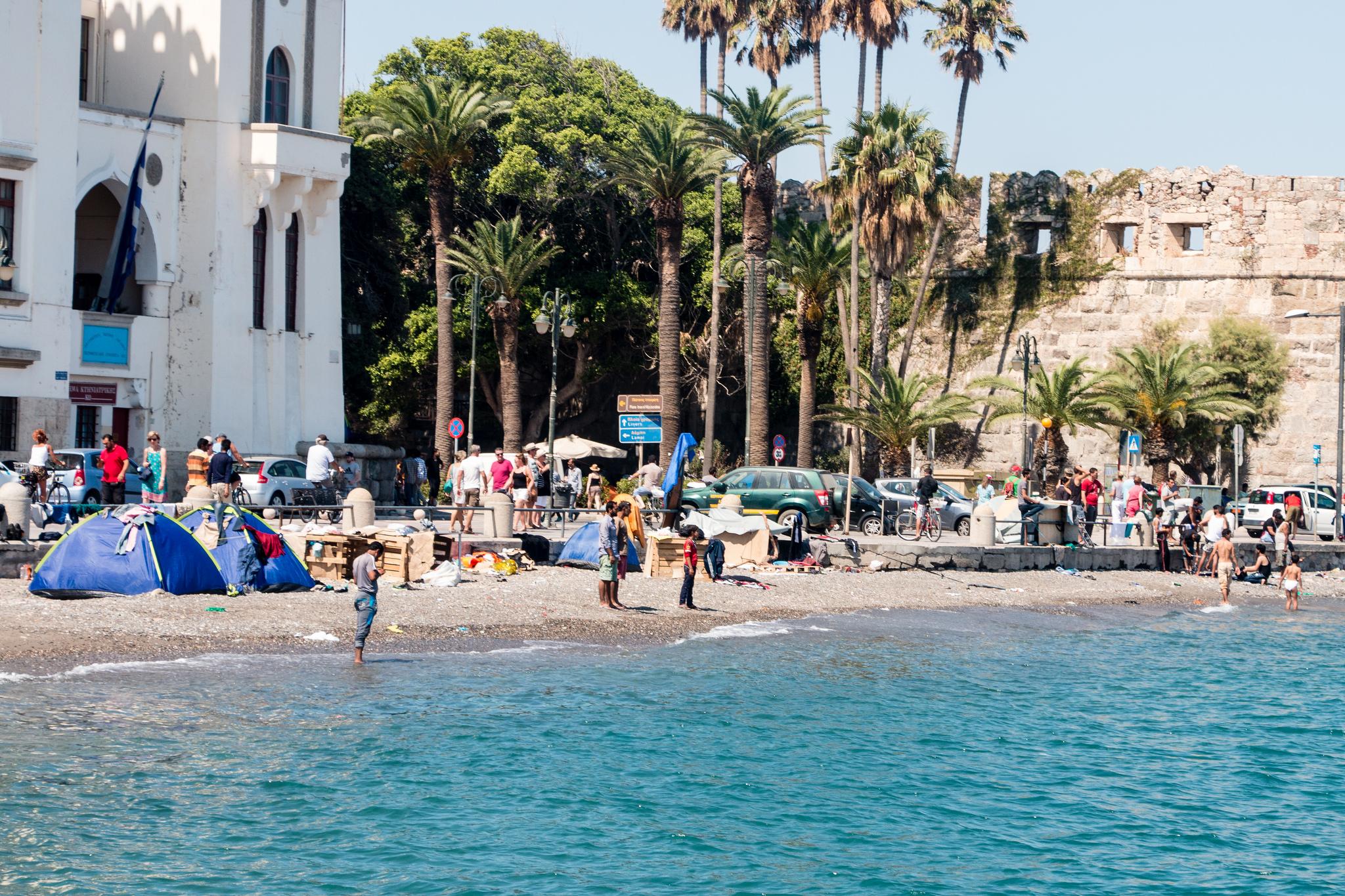 Die Verteilung von Flüchtlingen aus Griechenland in EU-Staaten kommt nicht voran.