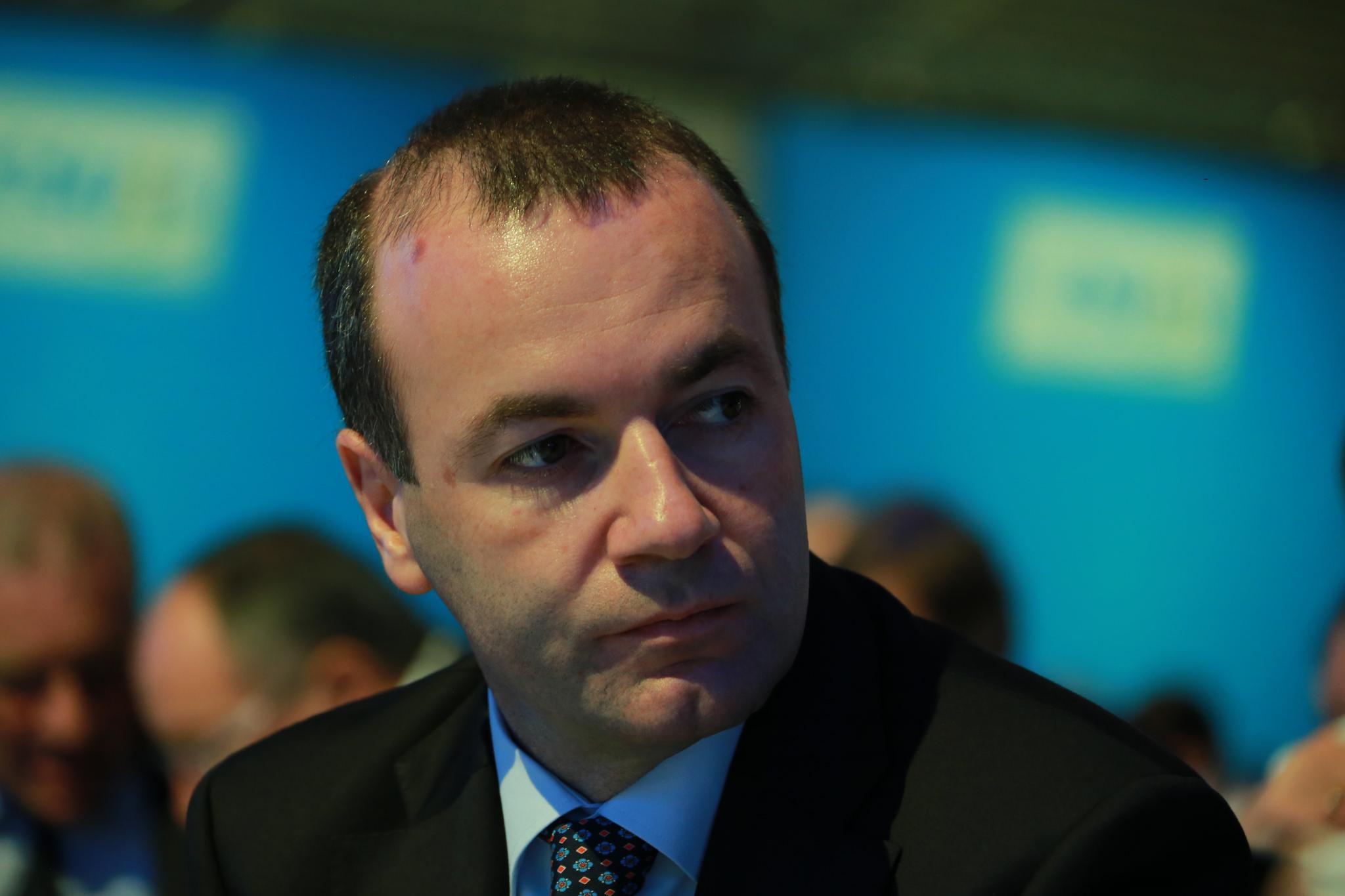 Der Fraktionsvorsitzende der Europäischen Volkspartei (EVP), Manfred Weber, ist gegen eine EU-Mitgliedschaft der Türkei.