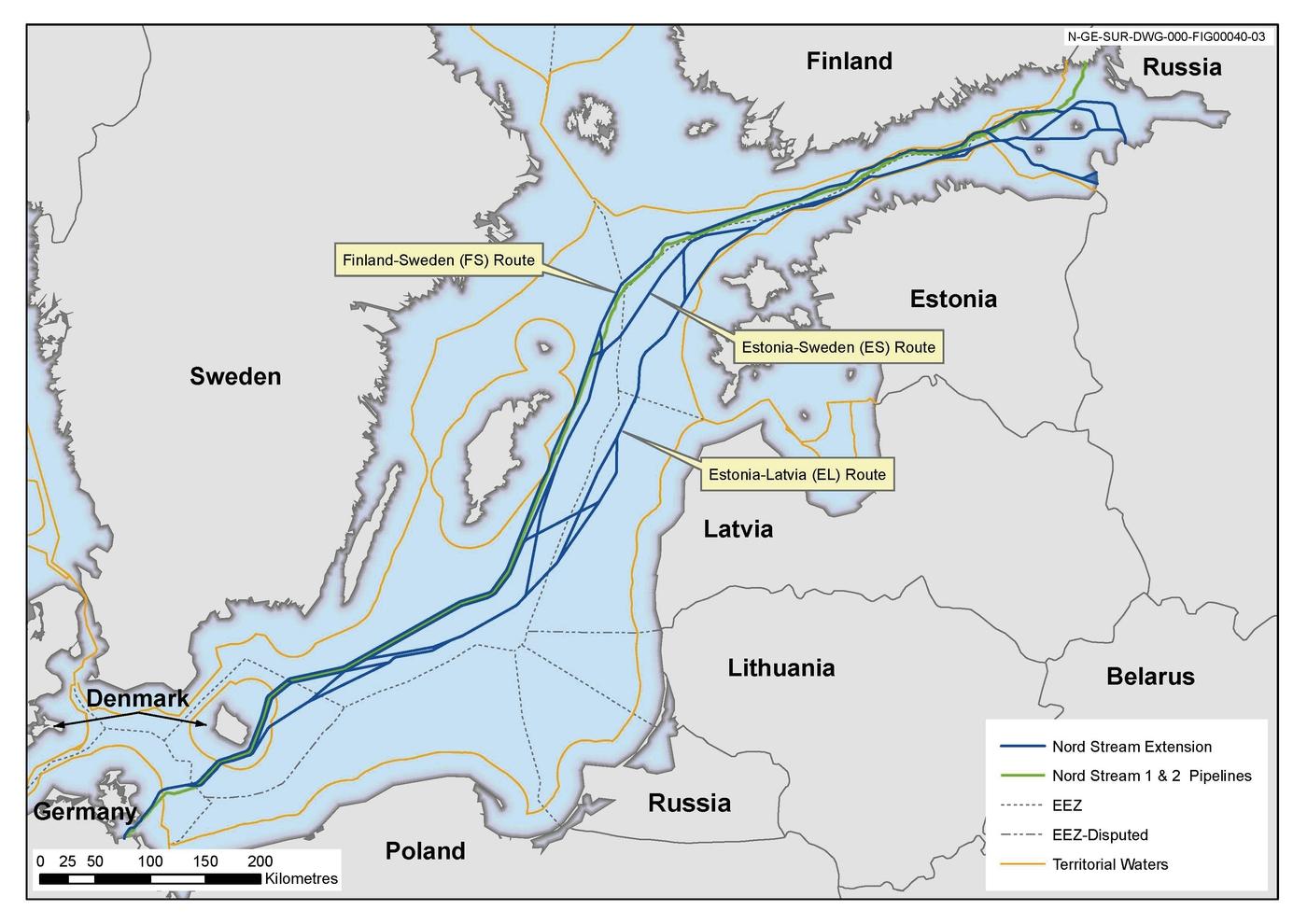 Nord Stream 2 Karte.Schweden Erteilt Genehmigung Fur Nord Stream 2 Euractiv De