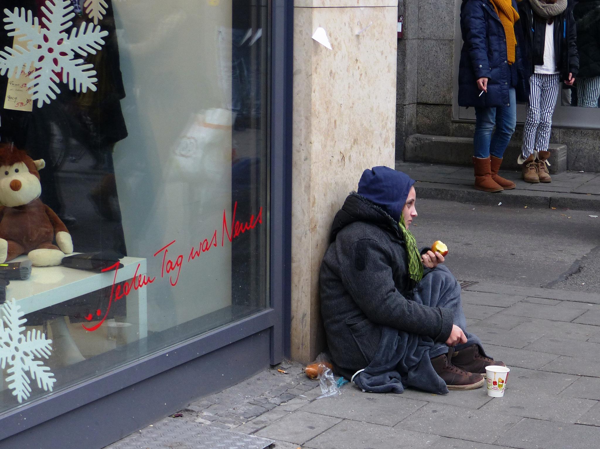 Die Kluft zwischen Reich und Arm wird laut Studie immer größer.