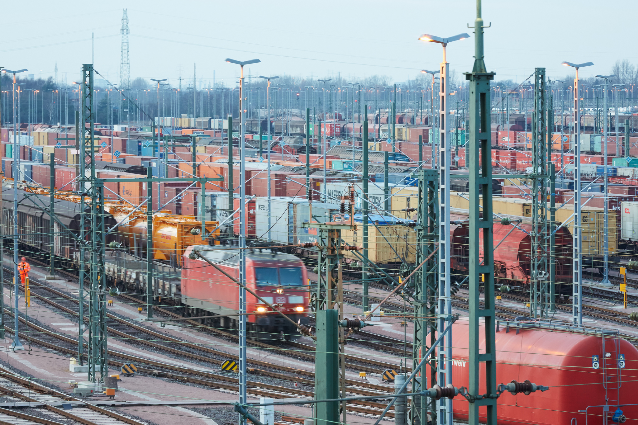 Die deutschen Exporte haben angezogen.
