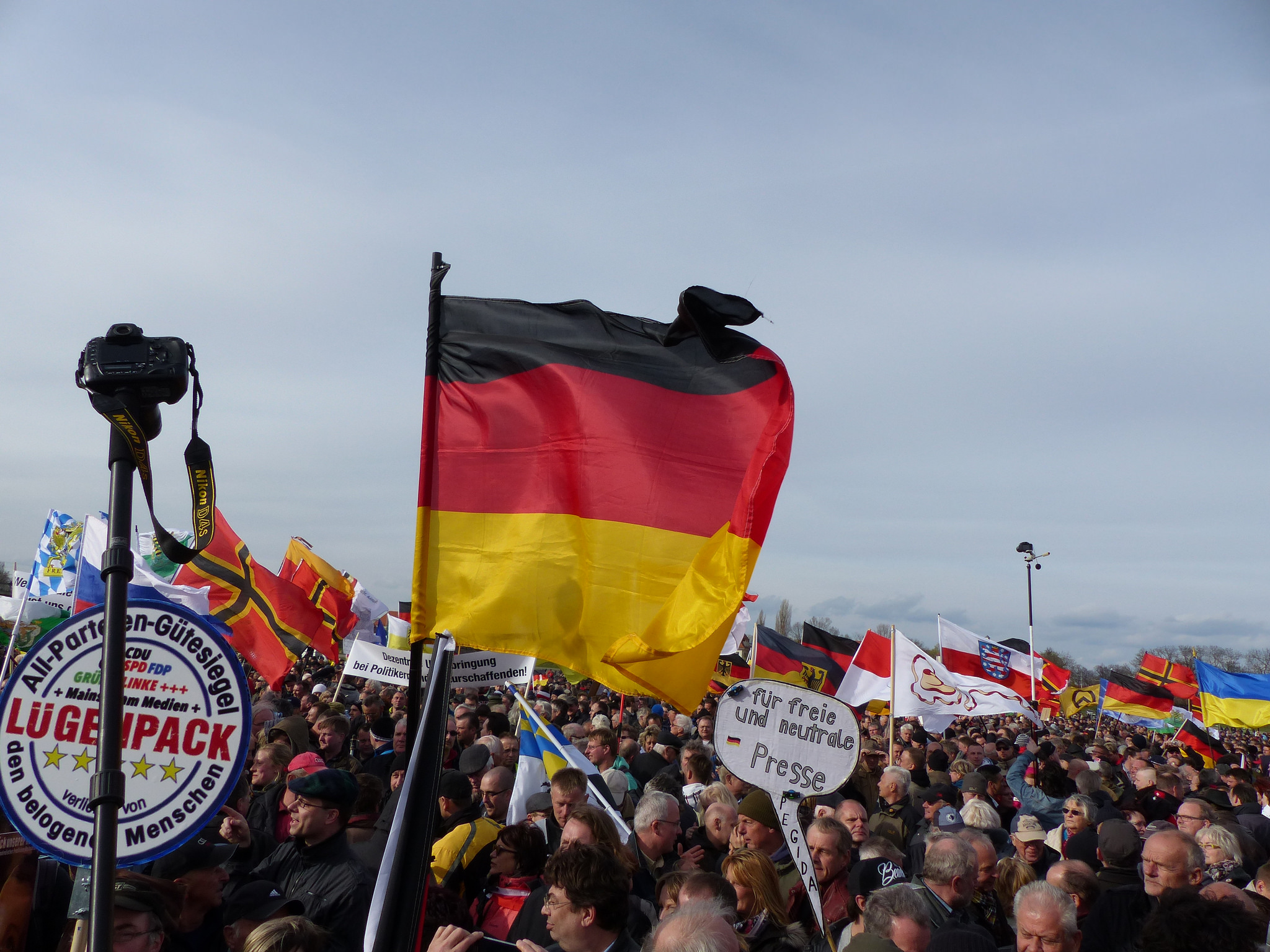 Pegida plant in ganz Europa Demonstrationen.