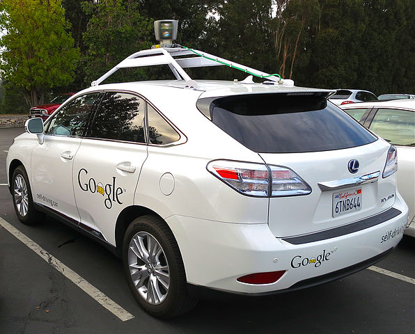 Google is developing and testing driverless cars in the US