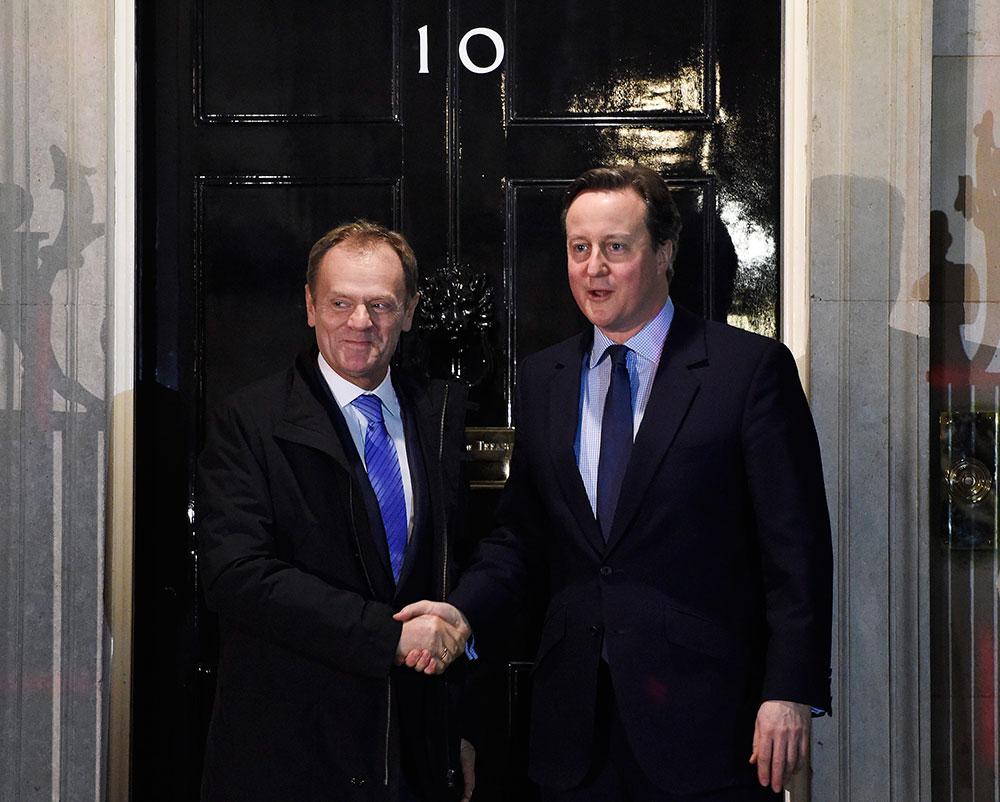 Tusk und Cameron ringen um die Vorschläge zur EU-Reform