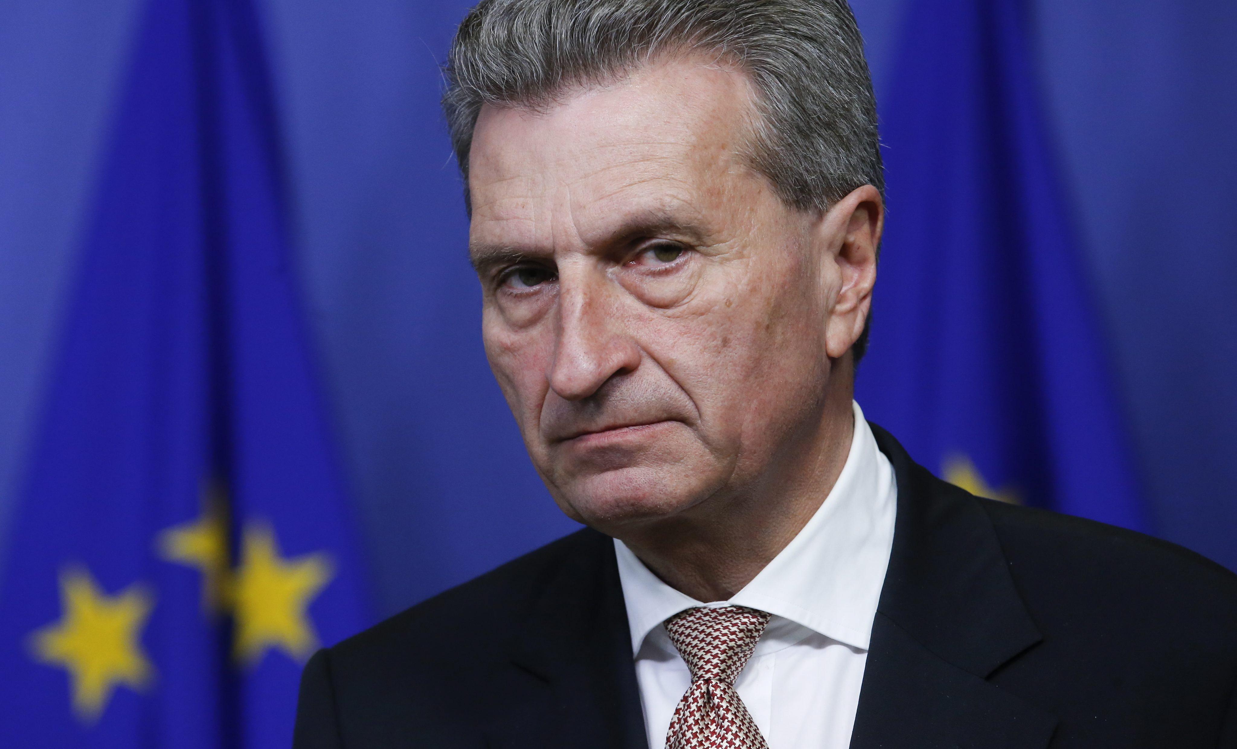 EU-Kommission, Günther Oettinger, Klaus Mangold, Lobbyismus,