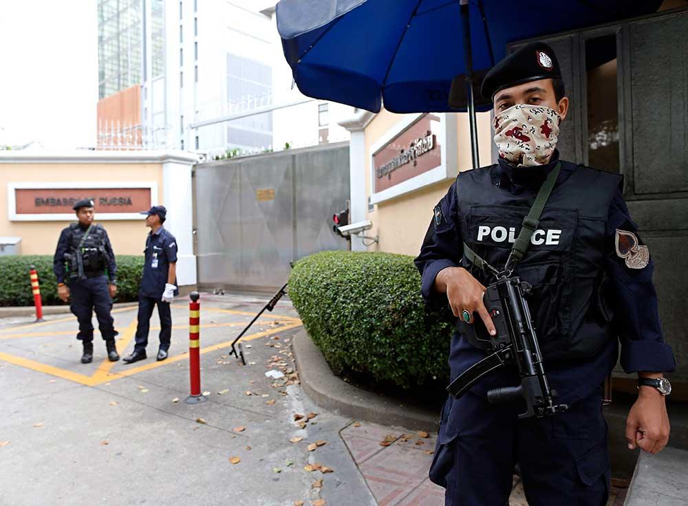 Thailand sprengt Fälscherin