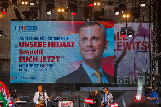 Österreich, Präsidentschaftswahl, Donald Trump, Norbert Hofer