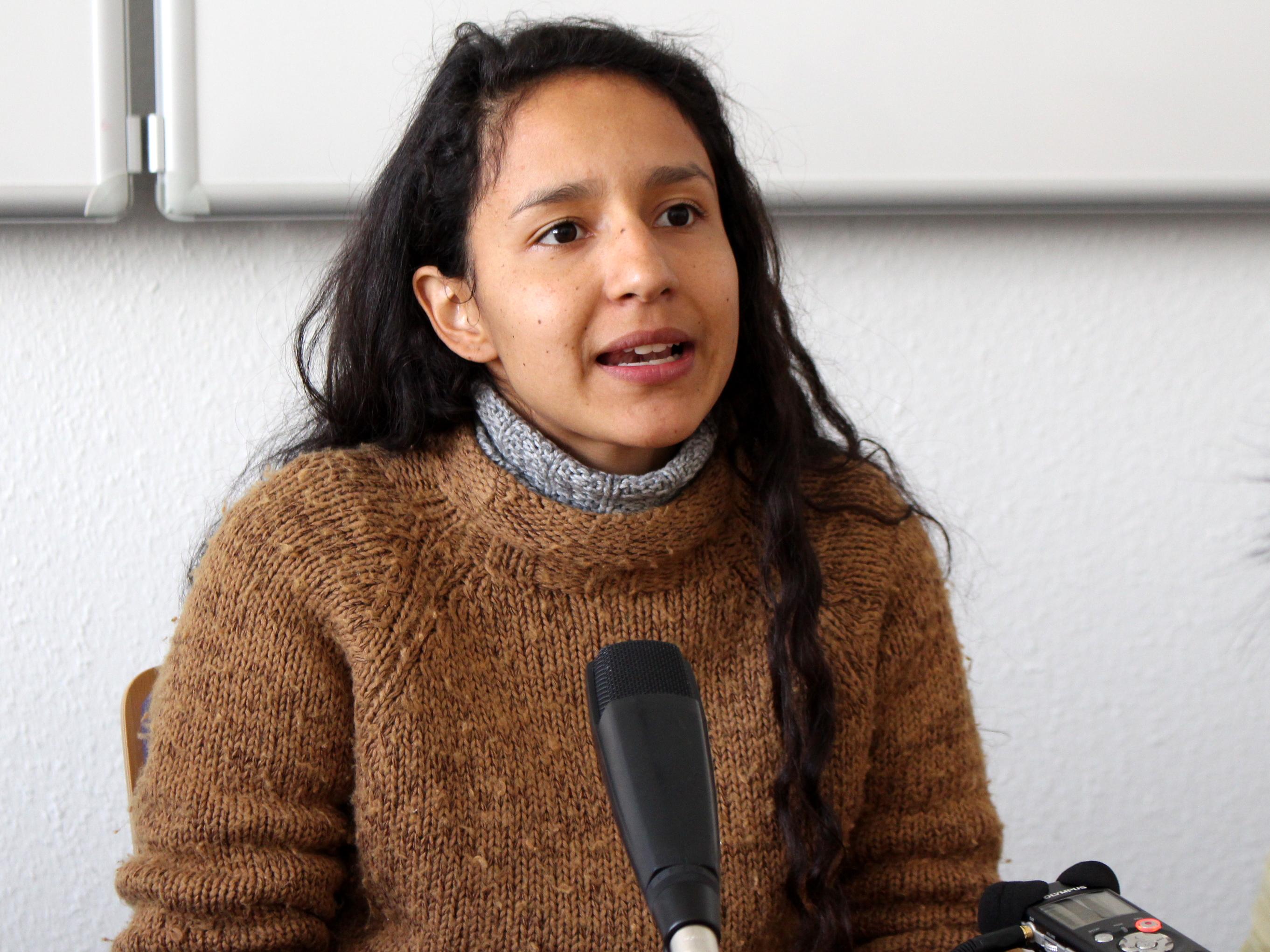 Bertha Isabel Zúniga Cáceres, Foto: Sebastian Meyer (Oxfam)