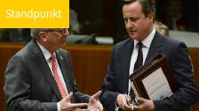 """""""Camerons Brexit-Forderungen schaden Klima und Umwelt"""""""