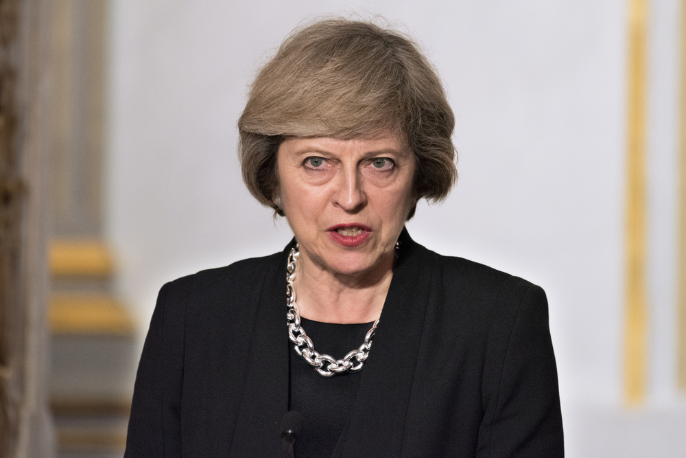 Theresa May London-Attentat, Terrorismus