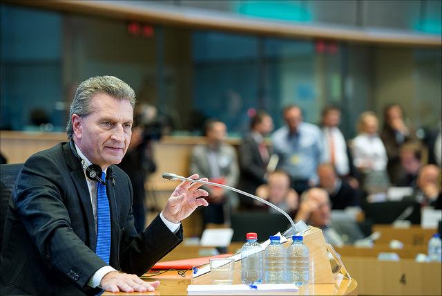 EU EUropa Nachrichten Oettinger Schlitzaugen