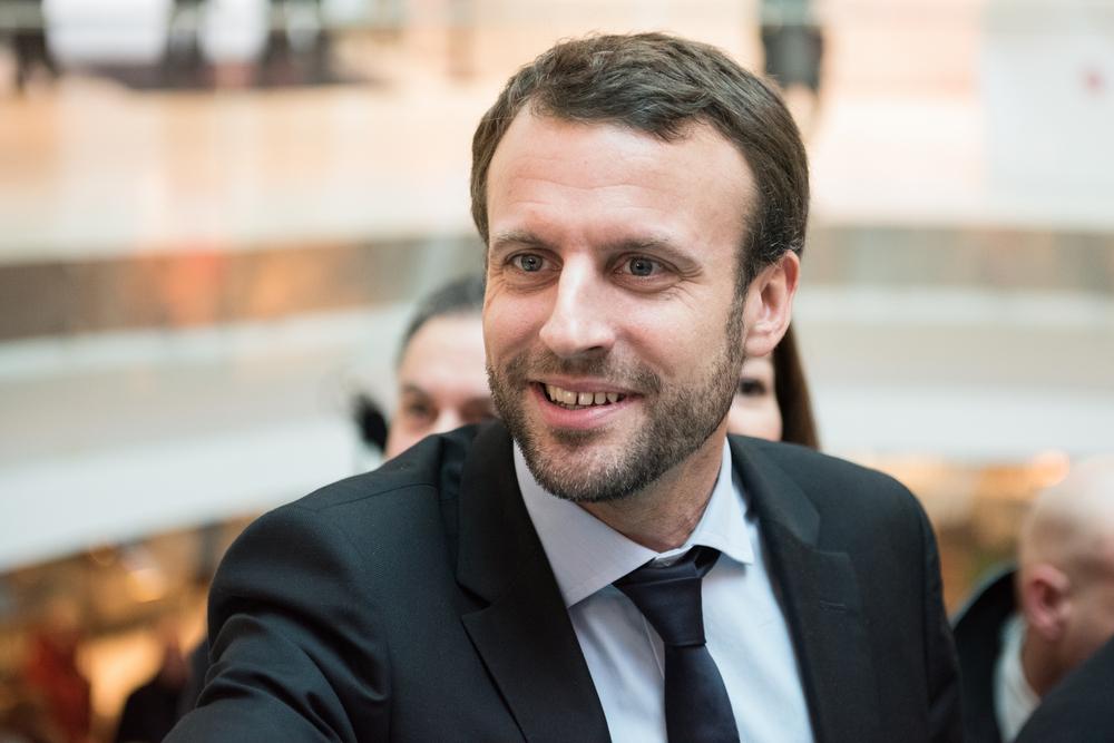 Emmanuel Macron setzt sich im französischen Wahlkampf für mehr Europa ein.  [Frederic Legrand - COMEO/Shutterstock]