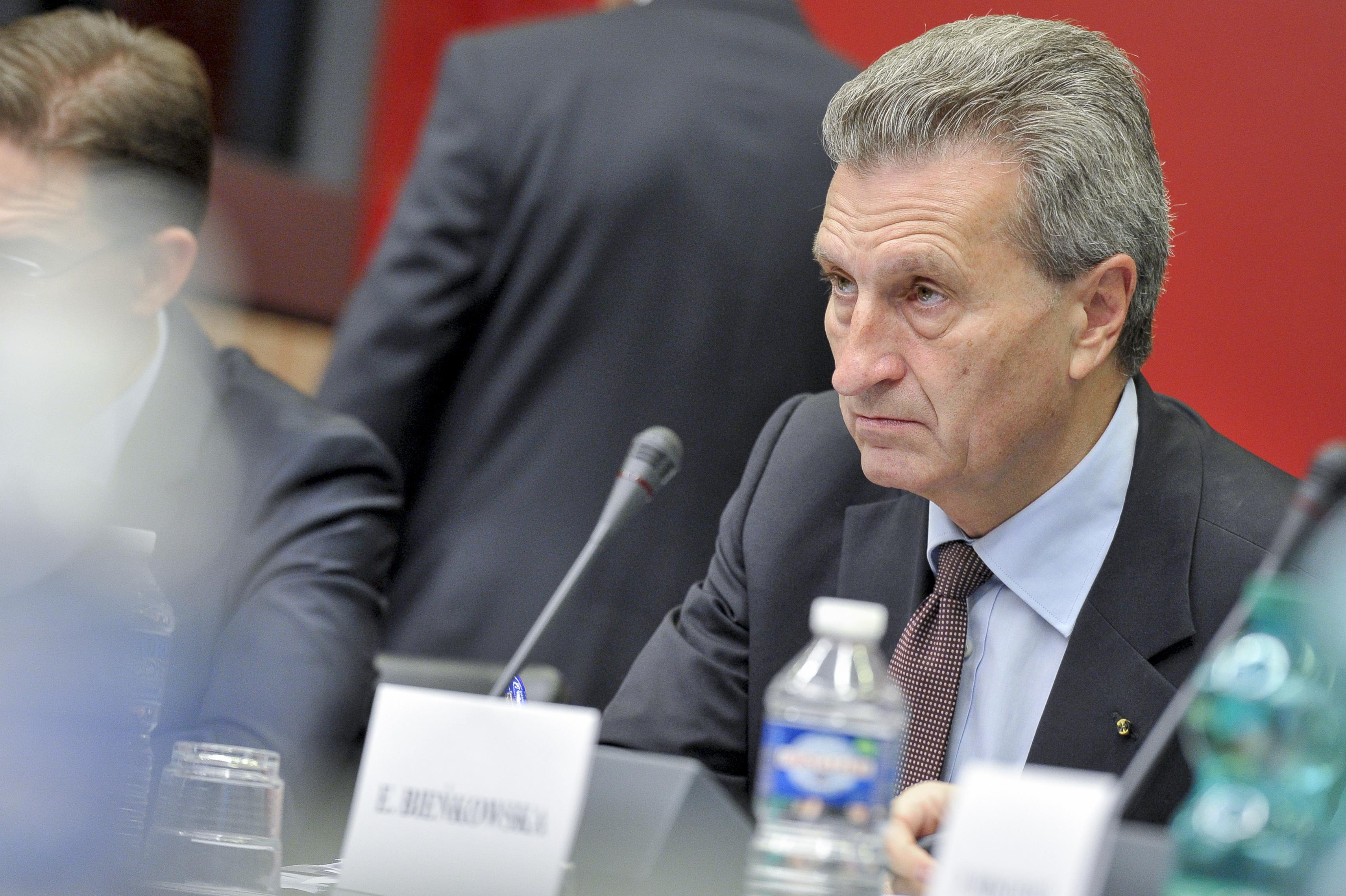 EU Europa Oettinger Nachrichten