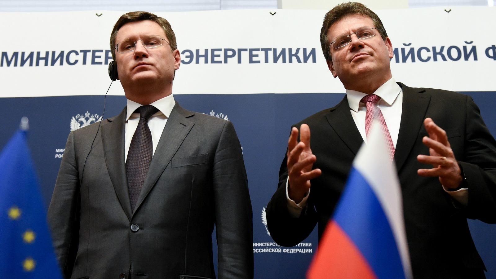 EU Europa Nachrichten Nowak Sefcovic