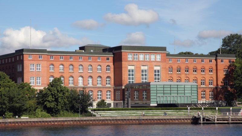 Der Landtag Schleswig-Holsteins in Kiel