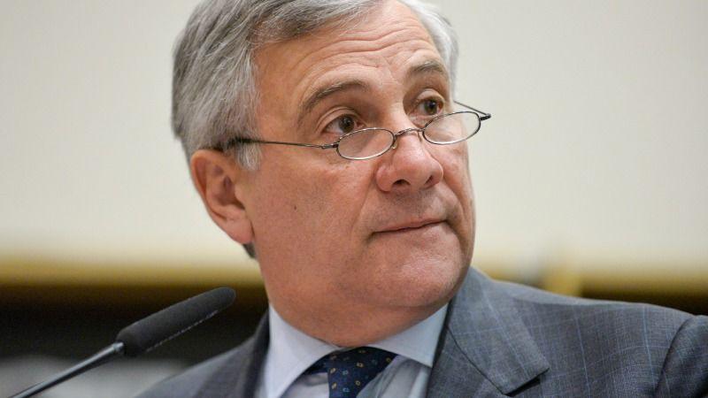 EU Europa Nachrichten Tajani Parlament