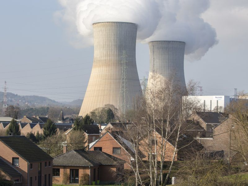 epa06177137 (FILE) - The nuclear power plant in Tihange, Belgium, 13 March 2016 (reissued 01 September 2017). German media reported on 01 September that the German city of Aachen has started to accept online applications for free iodine tablets the local administration is going to hand out to citizens as a precaution in fear of a possible radioactive disaster at Tihange nuclear plant.
