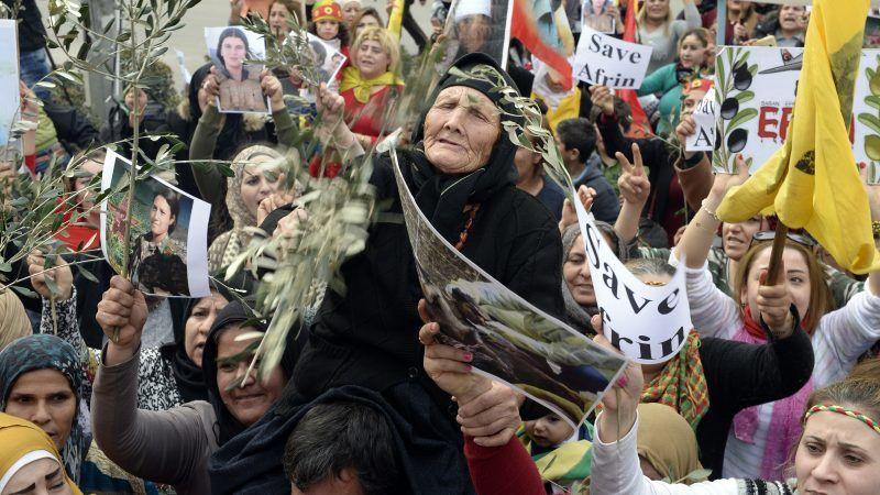 Kurden Assad