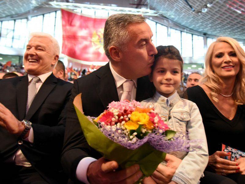Bei den Präsidentschaftswahlen in Montenegro gewann Ex-Amtsinhaber Djukanovic mehr als 50 Prozent der Stimmen im ersten Wahlgang.