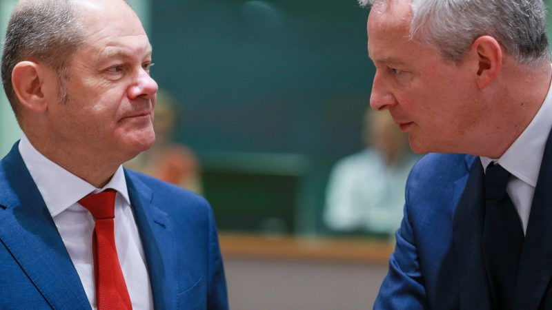 Bruno Le Maire und Olaf Scholz
