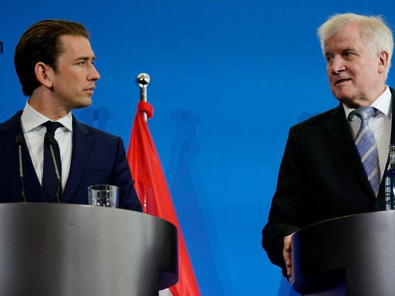 EU-Flüchtlingspolitik: Merkel und Conte fordern Solidarität
