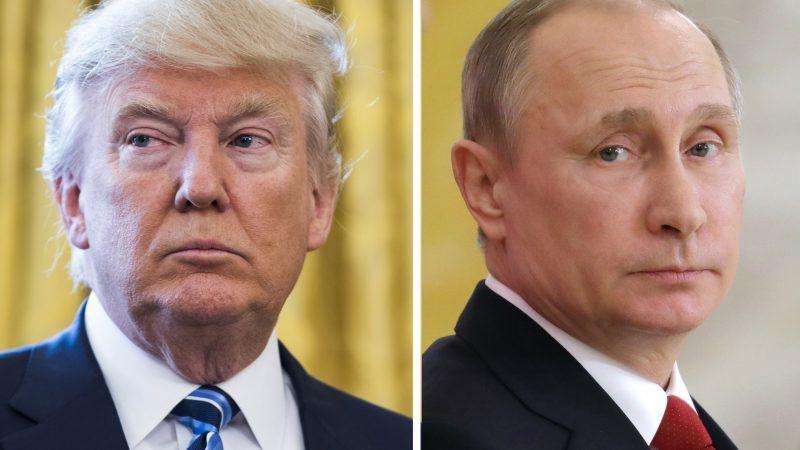 Donald Trump und Waldimir Putin