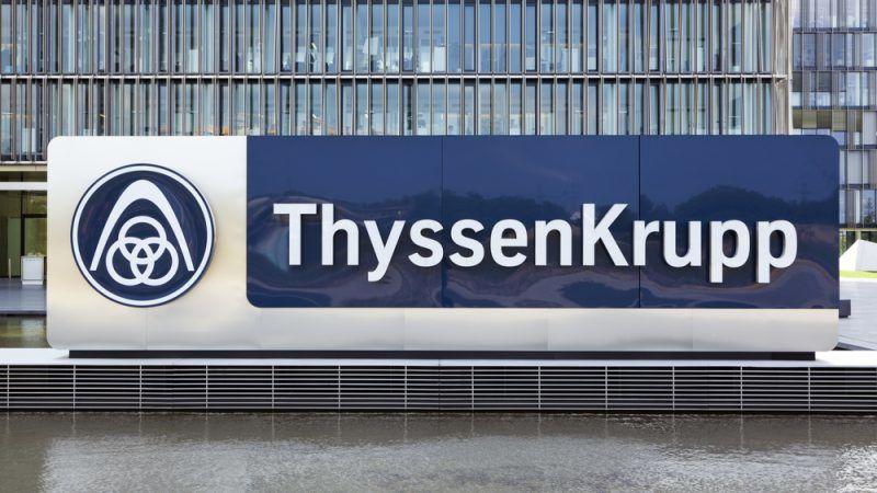 Der Essener Thyssenkrupp Konzern ist in Bedrängnis