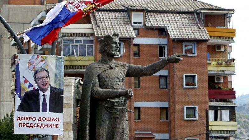 Das Kosovo hat mit massiven Zöllen auf serbische Importe die Spannungen mit Serbien weiter angeheizt.