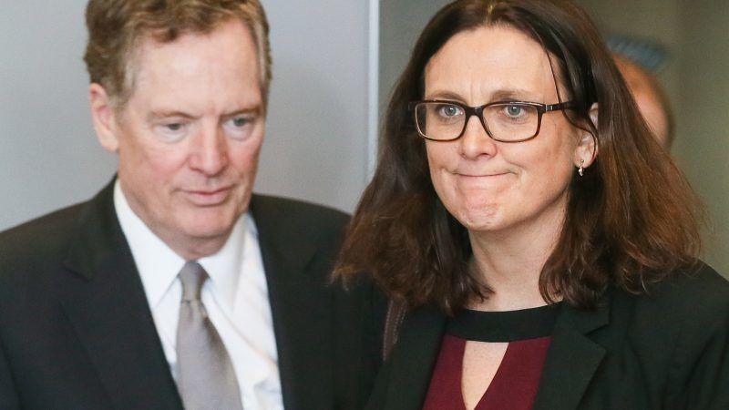 USA und EU führen in Brüssel Handelsgespräche