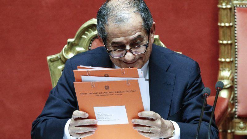 Italiens Finanzminister Giovanni Tria