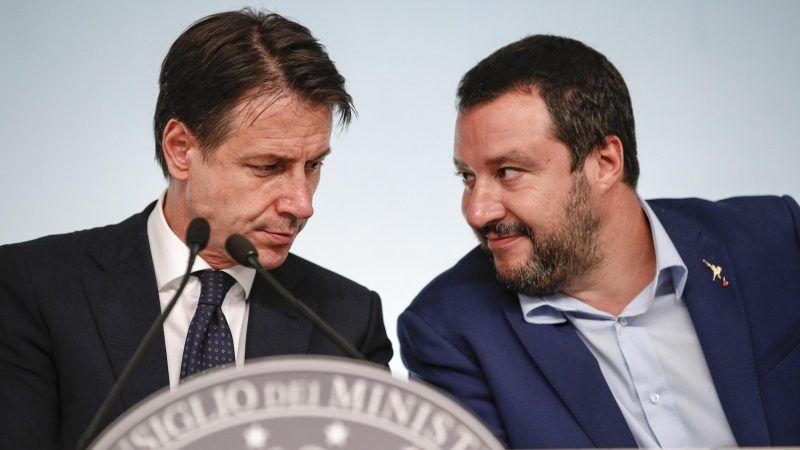 Giuseppe Conte und Matteo Salvini