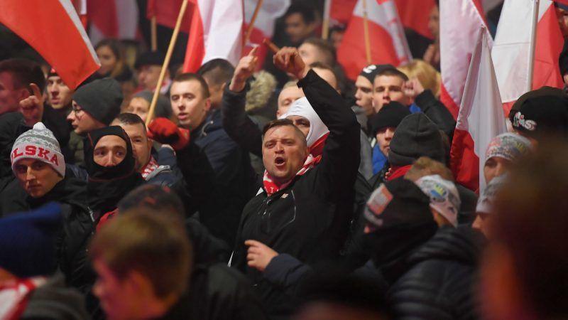 Polnischer Unbhängigkeitsmasch