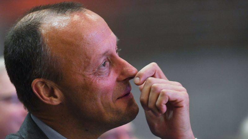 Der Kandidat auf den CDU-Vorsitz, Friedrich Merz