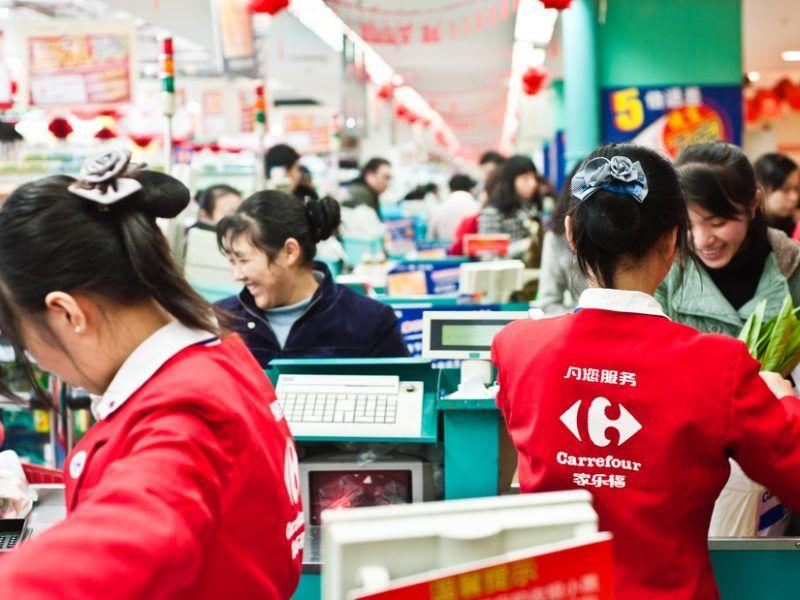 Chinesischer Supermarkt