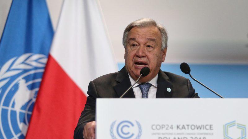 UN-Generalsekretät Antonio Guterres