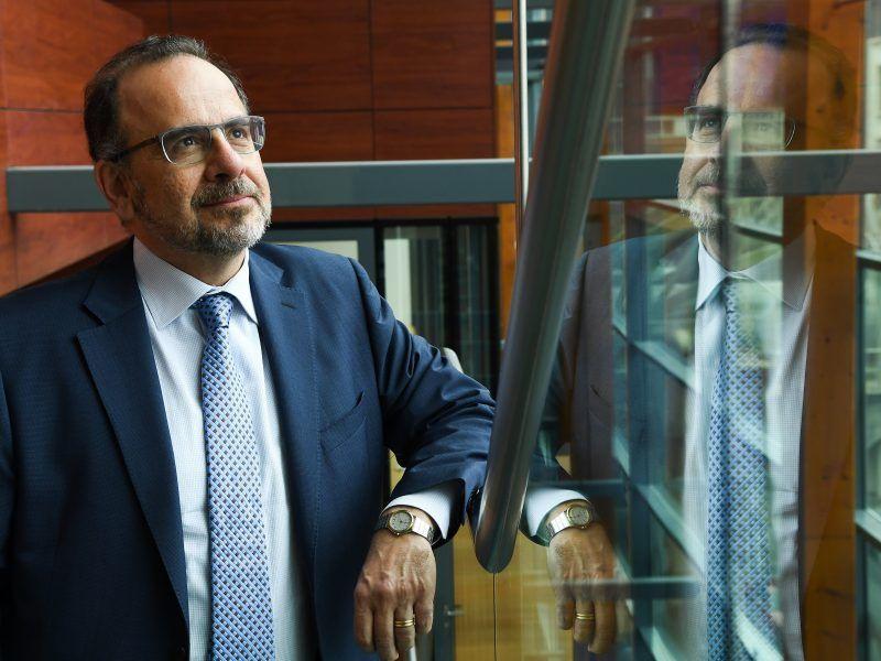 Luca Jahier, Präsident des Europäischen Wirtschafts- und Sozialausschusses.