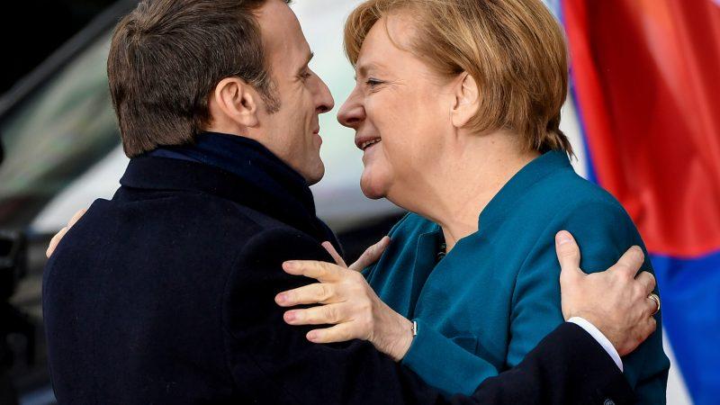 Macron und Merkel besiegeln neue Freundschaft