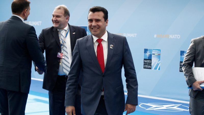 Symbolische Geste: Athen setzt sich für mazedonische NATO-Mitgliedschaft ein