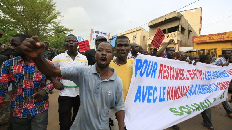Proteste rund um die 2018 Präsidentschaftswahl in Mali