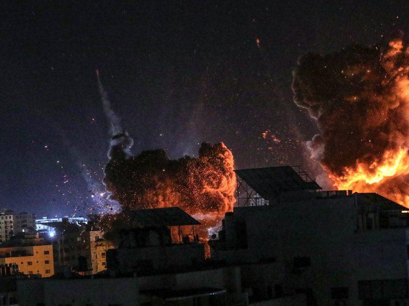 Israelischer Luftangriff im Gaza Streifen